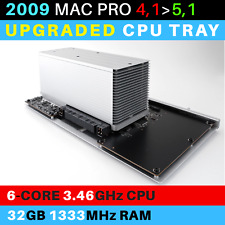 2009  Mac Pro 4,1->5,1 CPU Tray with 6-Core 3.46GHz Xeon and 32GB RAM