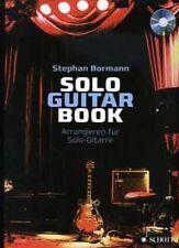 Bormann: Solo Guitar Book - Lehrbuch Gitarre + CD (ED20986) 978-3-7957-4520-2