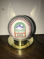 New in Display ~ Colorado Rockies Countdown to Coors Field Baseball 1995 MLB