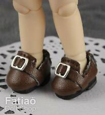 Fatiao - New fit for pukipuki Brownie / Middie Blythe BJD Doll Shoes - Brown
