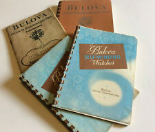 For Vintage Bulova Watches New listing Books Lot -