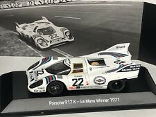 Porsche 917 #22 Winner LM 1971 Marko/van Lennep. 1:43 Spark Incl. Badge Magnetic