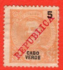PORTUGAL CABO VERDE 1911 Y&T 87º