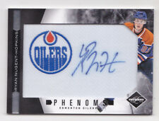 11-12 Limited Ryan Nugent-Hopkins /299 Auto Patch Rookie Phenom Oilers 2011