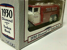 1/34 scale True Value  #11 DIE CAST  Diamond T Truck COIN BANK w/ Rubber Tires