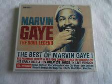 CD   MARVIN GAYE   THE SOUL LEGEND