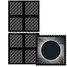 USPS New Total Eclipse of the Sun Press Sheet with Die Cuts