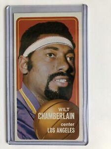 1970-1971 Topps Basketball Set Break 🔥 Wilt Chamberlin #50 NM/MT