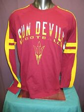 G-III Mens NCAA ASU Arizona State Sun Devils Long Sleeve Shirt New L