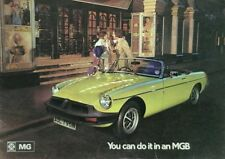 MGB Sales Brochure - October 1974