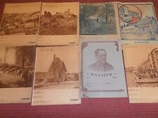 8 PROTEGES CAHIERS ANCIENS ( ref 33 )