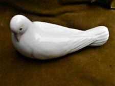 More details for vintage nao for lladro white resting dove. 7.5