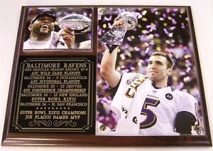 Baltimore Ravens Super Bowl XLVII Champions Ray Lewis NFL Photo Plaque