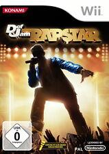 Def Jam: Rapstar (Nintendo Wii, 2010, DVD-Box)