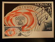 MONACO PREMIER JOUR FDC YVERT  1328   PHILEXFRANCE MONACO   1,40F   MONACO  1982