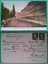 Tivoli - Villa Adriana - Avanzi del Pecile 1933