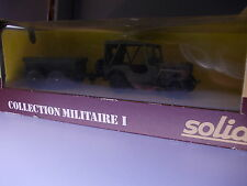 Solido: Collection Militaire I, No. 6041 Jeep Zodiac (GK1)