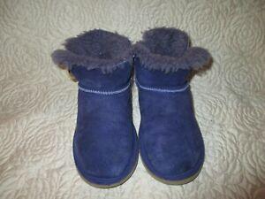 UGG Australia PURPLE  Mini Bailey Boots 1000788 Women's Size 3