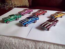 HW Classics Series 1 '70 Road Runner 6 Car Variation Set Loose as Pictured