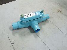 "Thomas & Betts Ocal Blue Conduit Tee Body 1"" FNPT 13.0 Cu In (NEW)"