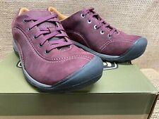 NIB Keen 1019501 Women's Presidio ll Winetasting/Peppercorn Casual Shoe