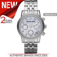 070342a71170 Michael Kors Ritz Women s Watch MK5020│Chronograph Dial│Silver Bracelet  Strap