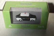 MINI  VOITURE NOREV SIMCA 1000  POLICE CAR/AUTO 1/87  TRAIN HO NEUF