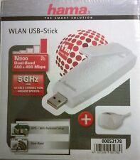 hama® N900 Dual Band WLAN USB Stick 2,4 / 5 GHz