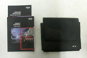 Genuine MINI Owners Handbook Case / Wallet / Book Pack for R55 Clubman #8