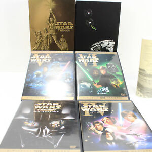 Star Wars Trilogy (DVD, 2004, 4-Disc Set, Full Screen)