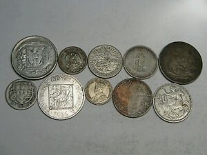 10 Silver World/Foreign Mix Coins 67.4 grams.  #23