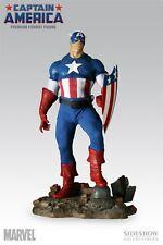 Sideshow Exclusivo Capitán América 1/4 Premium Format Figura Estatua Hulk Busto