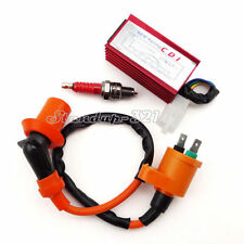 Pit Dirt Bike Racing Ignition Coil Spark Plug CDI 50 90 110 125 140 150 160 cc