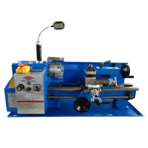 7x12 inch (180x300mm) Mini Lathe Machine For Metal Sumore SP2102 With LED Light