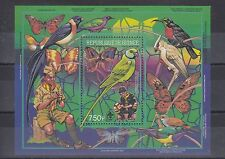 TIMBRE STAMP BLOC GUINEE Y&T#80 OISEAU SCOUT NEUF**/MNH-MINT 1988 ~A44