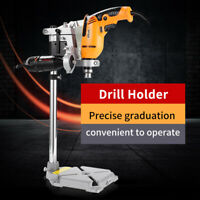 Clamp Drill Press Stand Workbench Repair Tool for Drilling Aluminum Base Durbale