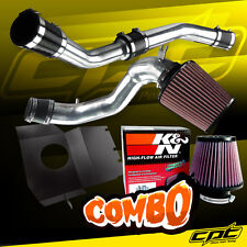 08-15 Lancer Turbo 2.0L Evo X 10 Polish Cold Air Intake + K&N Air Filter