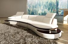 Leather Sofa Corner Interior Design round Couch Seat Pads Set Grey