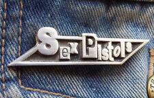 SEX PISTOLS Pewter Pin Badge