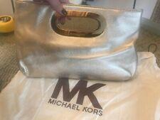 Michalel Kors Berkley Pale Gold Metallic Clutch Bag - Used once,fab condition