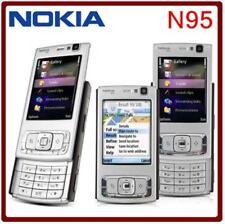 Téléphone portable Nokia N95 débloqué 5MP Caméra 2.6 pouce TFT Écran WiFi GPS