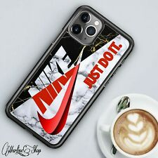 Hot Sale!! Nike4 Marble2 Design Cover iPhone X 11 PRO MAX Samsung Series Case