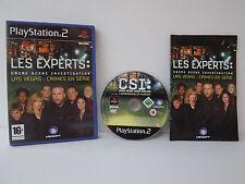 Les experts Las Vegas crimes en série Jeu PS2 Playstation 2 Complet avec notice