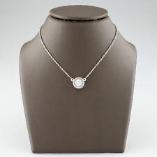 Platinum Elegant 0.50 carat Diamond Solitaire Pendant Necklace