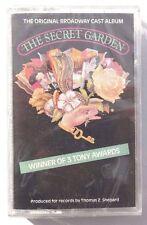 Vtg SEALED The Secret Garden BROADWAY MUSICAL Cassette Columbia US 1991