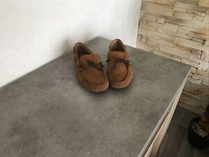 Chaussures Mocassins en daim marron pour homme, Taille EUR 42