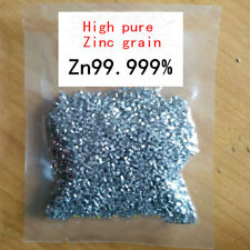50g Analytical Grade Zinc grain granule Reduction Chemical Agent - Aussie Seller