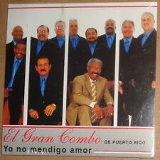 El Gran Combo De Puerto Rico - Yo no mendigo amor - Promo CD Single 2006.