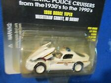 DODGE VIPER WASHTENAW COUNTY MI car patrol racing champions 1:64 police WHITE