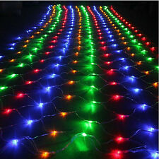 6x3M 600LED Net Mesh String Fairy Light Lighting Christmas Xmas Tree Party Decor